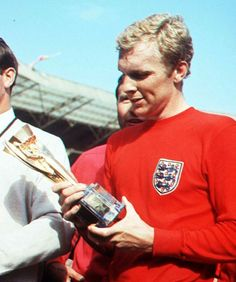 World Cup winning England captain, Bobby Moore