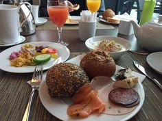 Frühstück im Steigenberger in Bremen