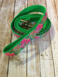 A personal favorite from my Etsy shop https://www.etsy.com/listing/455770294/lilly-pulitzer-dog-leash-in-so-a-peeling