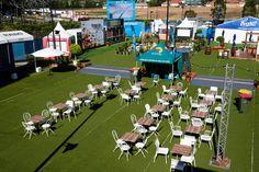 Sporting Event Public Area by Moreton Hire Australia