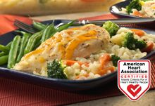Easy Baked Chicken & Rice Casserole http://www.campbellskitchen.com/Healthy%20Eating/Recipes%20for%20Healthy%20Eating/AHA%20Certified%20Recipes.aspx?fm=theater