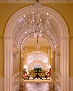 Interior Design by Ken Blasingame (Courtesy of the White House Historical Association)