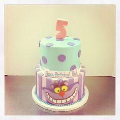 easy alice in wonderland birthday cakes | Alice in wonderland birthday cake | Flickr - Photo Sharing!