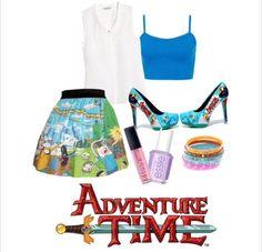 Adventure Time fashion yaya