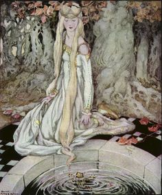 Anne Anderson,  Old, Old Fairy Tales - The Frog Prince.