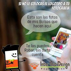 Si no le pones tu logotipo a tus fotos te las pueden robar .  #agenciasmm #medellin #bogota #aumentarventas #latinoamerica #redessociales
