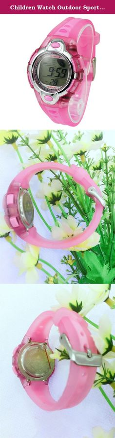 Children Watch Outdoor Sports Kids Boy Girls LED Digital Alarm Stopwatch Waterproof watch student Dress Watches. 100% Brand New Gender: for Children Feature:LED display, Auto Date,Alarm,Week,Date,Chrono A good choice for gift or decoration. It's fashion , is a very useful accessory brighten up your look. Used for gift-giving occasions. 50m waterproof Dial Diameter:3.9cm Dial thickness: 1.3cm Strap width: 1.6cm Strap length: 23cm Weight: 30g.