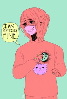 """ I Am perfectly fine "" GIF"