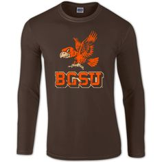 BGSU Falcons Vintage Long Sleeve T-Shirt – BG Memories | BGSU T-Shirts