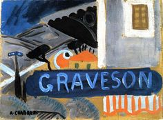 """Graveson Railway Station (2)"", Oil On Panel by Auguste Chabaud (1882-1955, France)"
