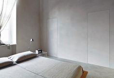 Bedroom hidden door effect design. Find thousands of interior design ideas for your home with the latest interior inspiration on Interiorpik includes décor pictures for every Rooms and Garden Flush Doors, Pivot Doors, Internal Doors, Panel Doors, Windows And Doors, Porte Design, Door Design, Interior Architecture, Interior And Exterior