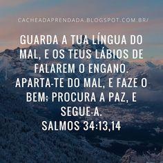 SALMOS 34 - 13:14