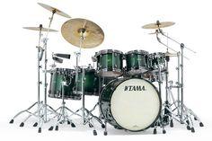 Tama Starclassic Bubinga Drums: Deep Forest Burst