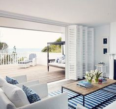 Simple and clean design in a coastal home