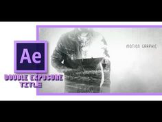 True Detective Title   Double Exposure   After Effects Tutorial - YouTube