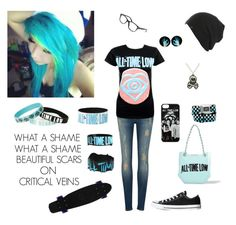 """""""KIDS IN THE DARK -All Time Low"""" by evangeline-purdy-girl ❤ liked on Polyvore"""