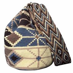 $80.00 Retail Price LARGE Mochila Wayuu Bag | RETAIL + WHOLESALE | Handmade and Fair Trade Wayuu Mochila Bags LOMBIA & CO. | www.LombiaAndCo.com