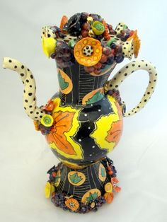 Teapots | Ann-Marie Robinson: Irish Ceramic Artist