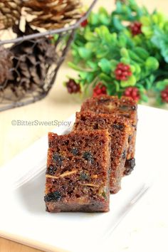 BitterSweetSpicy: Steamed Fruit Cake.... a very moist version..