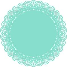 Vector doilies for the high tech inner grandma. Diy And Crafts, Arts And Crafts, Paper Crafts, Cake Logo, Clip Art, Borders And Frames, Gifts For Office, Scrapbook Paper, Scrapbooking