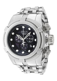 Price:$910.99 #watches Invicta 0820, With a bold, masculine design, Invicta chronograph has a poised and calm ambience that's sure to have you looking twice.