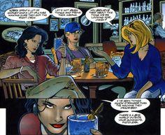 Fuck Yeah, Birds of Prey comics! Kick Backs, Birds Of Prey, Ravens, Comics, Drinks, Drinking, Raven, Beverages, Crows