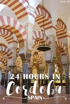 How to Spend 24 Hours in Cordoba, Spain - Things to do and where and what to eat   packmeto.com