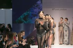 Our dazzling sparkling womenswear spirit catwalk showcasing the mesh jumpsuits by Kikiriki USA from their collection. Olympia London, Mesh Jumpsuit, Sheer Bodysuit, Black Jewel, Exclusive Collection, Hard Work, Catwalk, Modeling, Jumpsuits