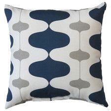 Ivon Oxford Indoor/Outdoor Throw Pillow