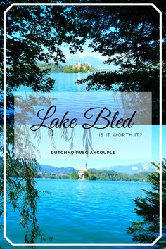On our Euro trip last summer we visited Lake Bled in Slovenia. Before we went there, we'd heard and read so much about it. And we'd seen beautiful pictures. Visit Slovenia, Slovenia Travel, Lake Bled, Eurotrip, Stunning View, Beach Day, Hotels And Resorts, Continue Reading, Perfect Place