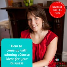 Would you like to know how to come up with winning eCourse ideas for your business?  Download the FREE GUIDE here.   https://reveriecoaching.leadpages.net/eclf-opt-in/   #ecourse #passiveincome