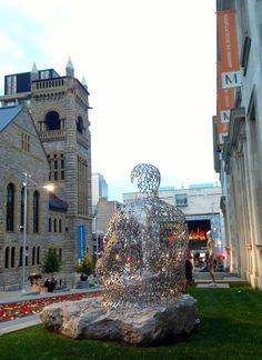 Beautiful Montreal Art Scene. Montreal