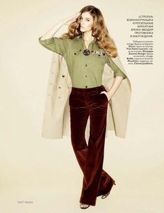 Vogue Russia July 2010 - Barbara Palvin - Matt Irwin