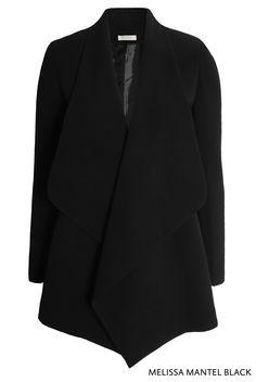 Melissa Mantel Black von KD Klaus Dilkrath #melissa #kdklausdilkrath #coat #black #chic #fashion #outfit #jacket #kdklausdilkrath #kd #dilkrath #kd12 #outfit