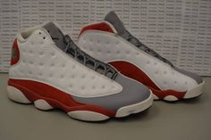on sale edf3a 2d34e Nike Air Jordan Retro 13 Grey Toe 414571 126 Size 10.5 Nice!