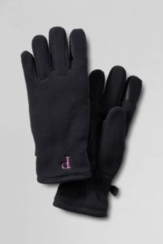 Women's Polartec Aircore 200 Insulated EZ Touch Gloves from Lands' End. Anti-static, anti-pill, keyboard-friendly fingertips, colors coordinate with other Polartec 200 products. Offered in 5 colors and 2 sizes.