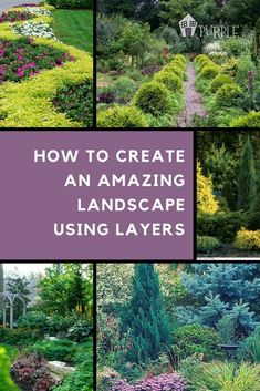 Landscape Layering: Create an Effective Landscape. Wondering how to arrange plants in landscaping so you have color and interest in all This landscape layering guide will teach you how to easily layer plants in your landscape. Landscaping Supplies, Landscaping Plants, Landscaping Ideas, Landscaping Software, Sidewalk Landscaping, Natural Landscaping, Modern Landscaping, Garden Types, Gardens