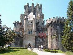 Castillo de Ampudia, en Palencia.