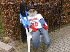 Birthday - prank doll for a man who is turning 50; Abraham
