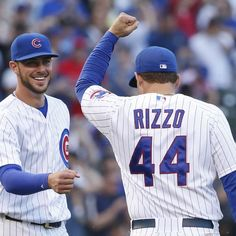 The precocious Chicago Cubs' infield is far less likely to show their age on the field than off of it, where they maintain a group text message chain and are all active on social media. Each uses Twitter