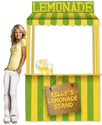 Virtual Lemonade Stand for the Ovarian Cancer Research Fund. Living Vintage, Booth Design, Sunday School, Fundraising, Cool Kids, Pattern Design, Diy Crafts, Mom, Lemonade Stands