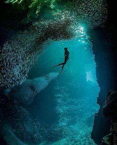 Nature Hawaii cave