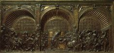 Donatello | Miracolo dell'asina dai Miracoli di Sant'Antonio, Altare di Sant'Antonio | 1446-1453 | rilievo in bronzo | Padova | Basilica di Sant'Antonio da Padova
