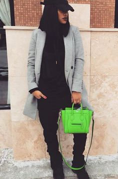 When your swagg tomboy as fuck but you throw a purse in to kill your…