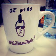 Café e Taxistas, grandes amigos! #café #caneca #taxidriver #youtalkintome #deniro www.diariodebordo.net.br