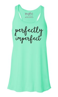 Perfectly Imperfect Tank - Mint Green