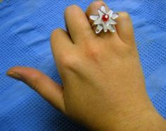 Laser cut ring by Rebecca Froley