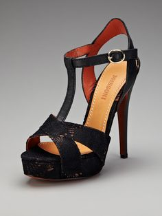 Ooh la la.. T-Strap Sandal by Missoni Shoes on Gilt.com