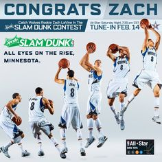 Zach LaVine will be participating in the 2015 All-Star Slam Dunk Contest!