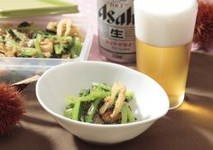 小松菜・油揚げ・ザーサイの和え物